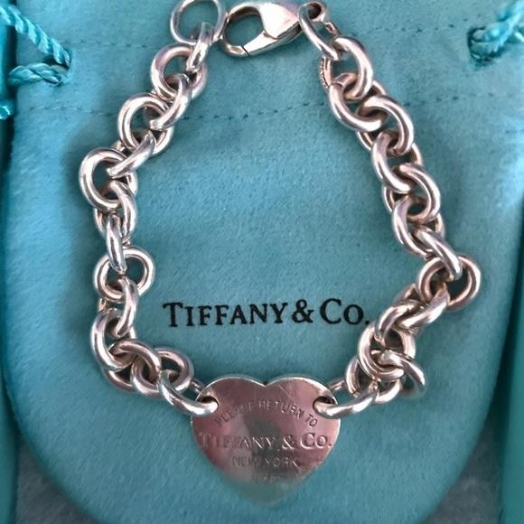 db5f1d70cb32 Tiffany   Co. Jewelry - Tiffany   Co. Return to Tiffany s Bracelet- Heart